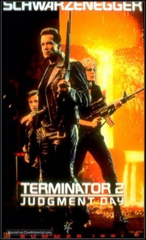 Terminator 2: Judgment Day - Movie Poster