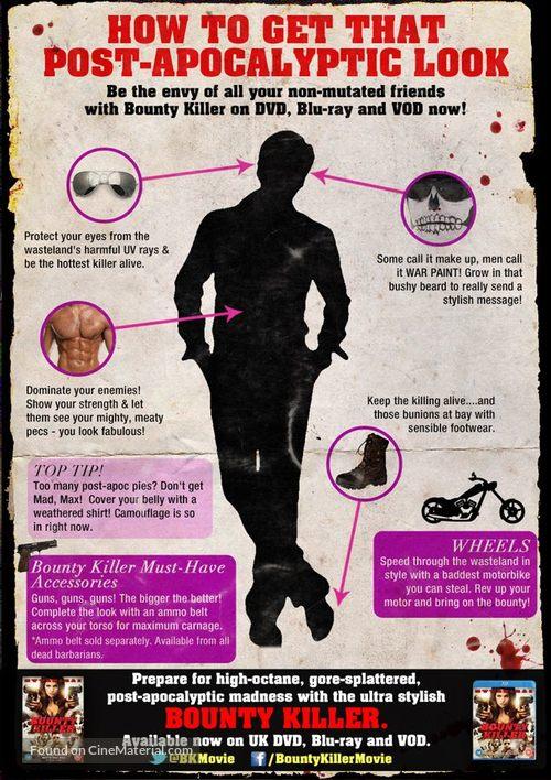 Bounty Killer - British Movie Poster