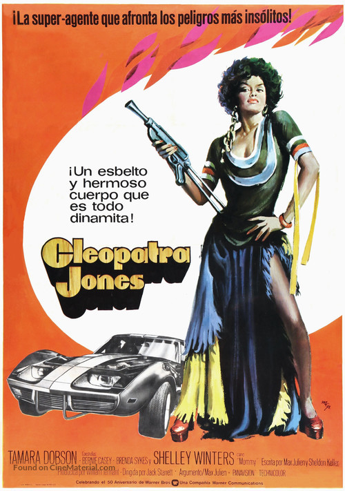 Cleopatra Jones 1973 Spanish Movie Poster