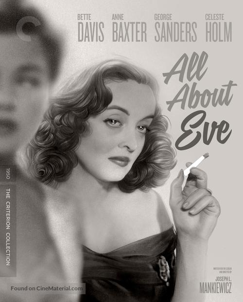 All About Eve - Blu-Ray movie cover