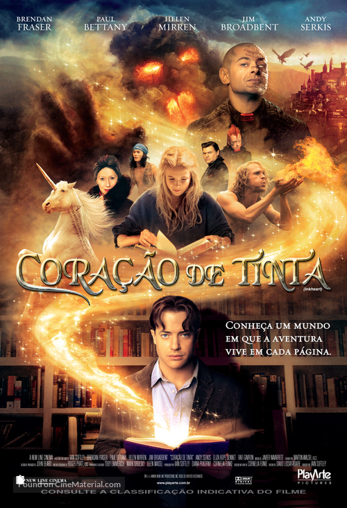 Inkheart - Brazilian Movie Poster