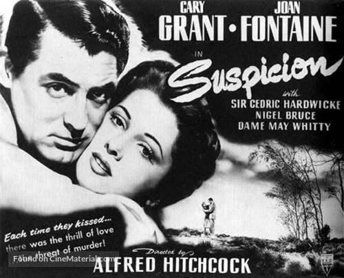 Suspicion - British Movie Poster