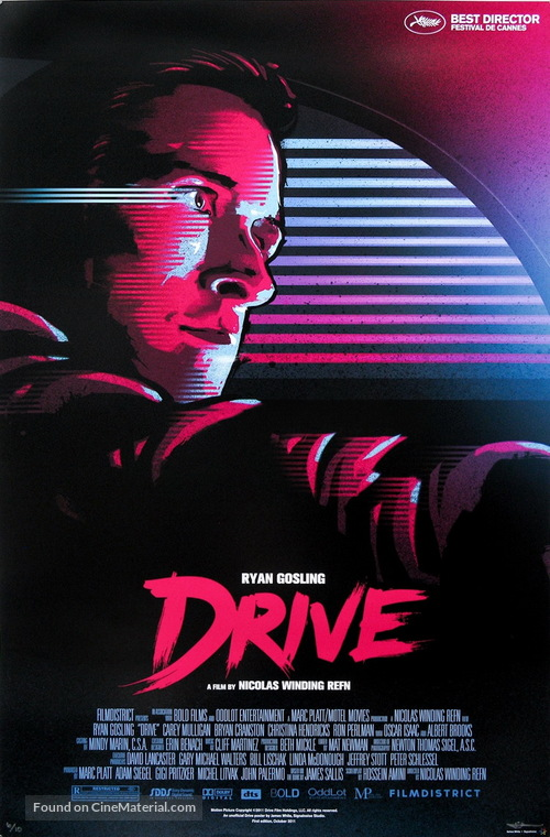 Drive (2011) Canadian movie poster