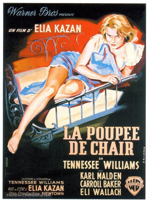 Baby Doll - French Movie Poster