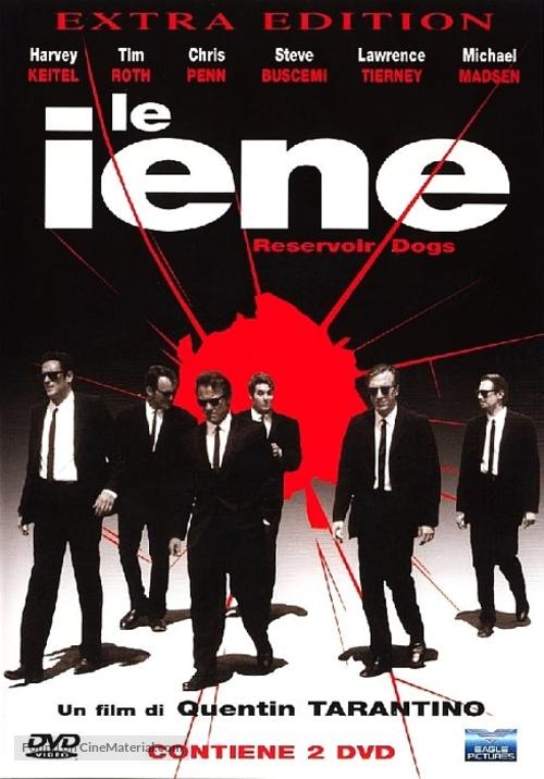 Reservoir Dogs - Italian DVD movie cover