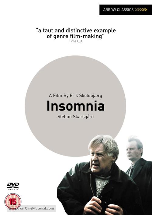 Insomnia - British DVD movie cover