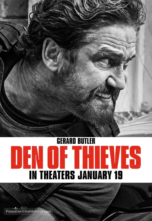 Den of Thieves - Movie Poster
