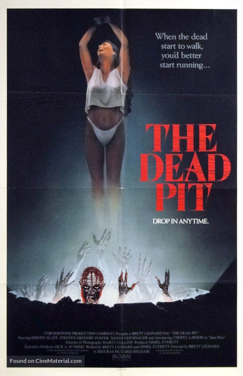 The Dead Pit - Movie Poster