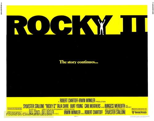 Rocky II - Movie Poster