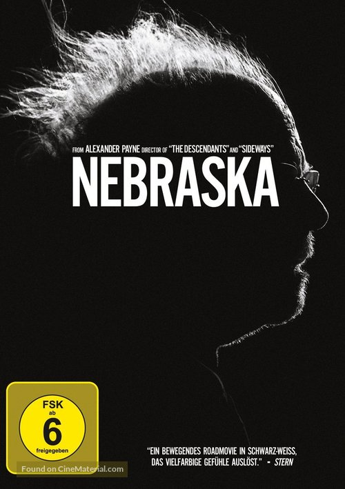Nebraska - German Movie Cover