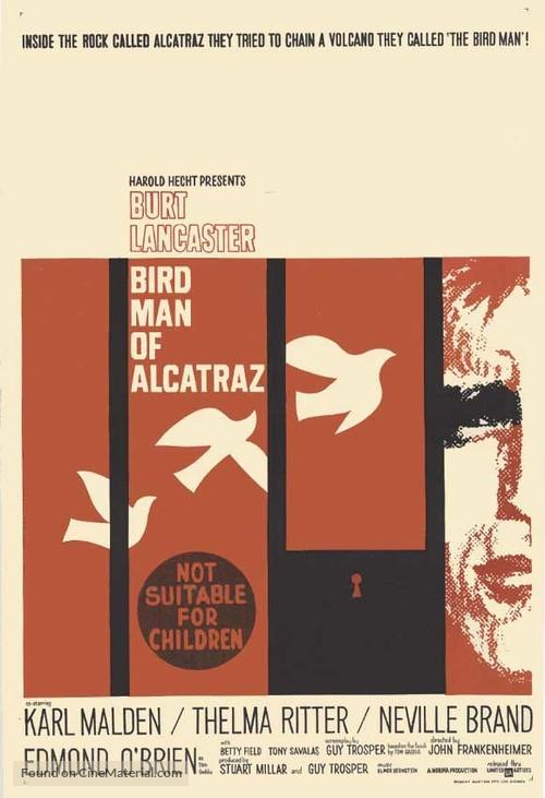 Birdman of Alcatraz - Australian Movie Poster