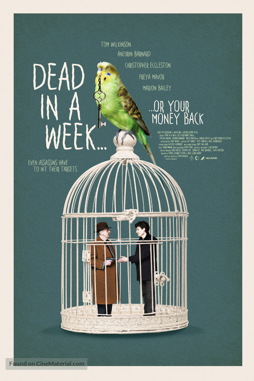 Dead in a Week: Or Your Money Back - British Movie Poster