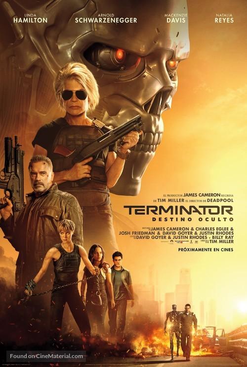Terminator: Dark Fate - Argentinian Movie Poster