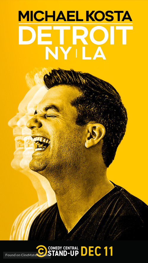 Michael Kosta: Detroit NY LA - Movie Poster