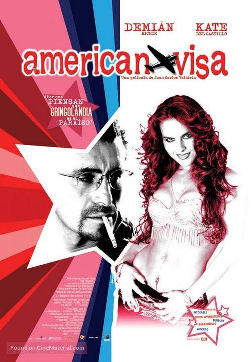 American Visa - Mexican Movie Poster