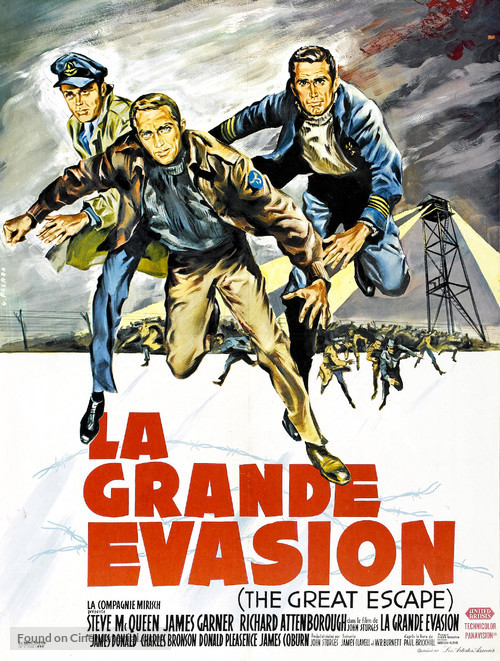 The Great Escape - French Movie Poster