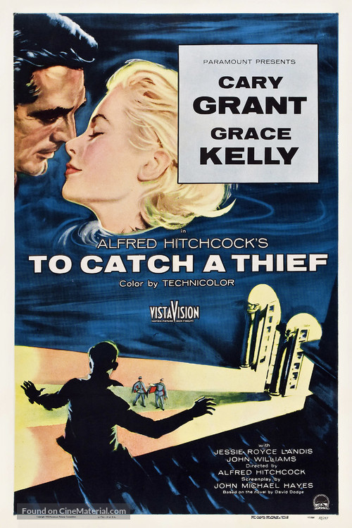 To Catch a Thief - Theatrical poster