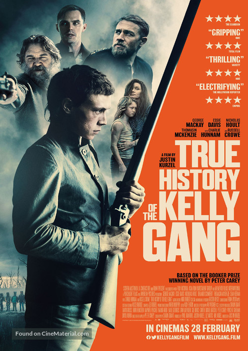True History of the Kelly Gang - British Movie Poster