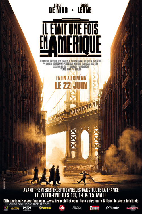 Once Upon a Time in America - French Movie Poster