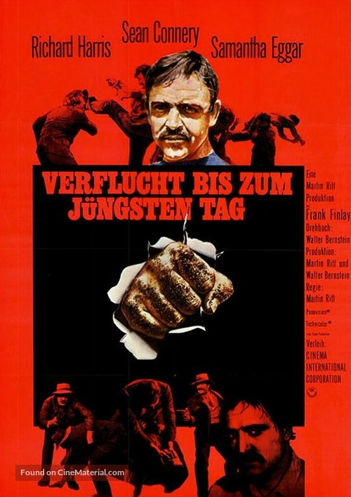 The Molly Maguires - German Movie Poster