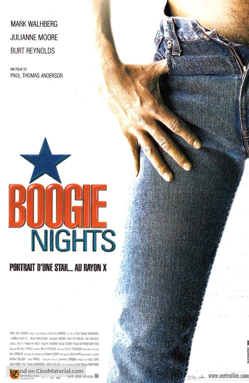 Boogie Nights - French Movie Poster