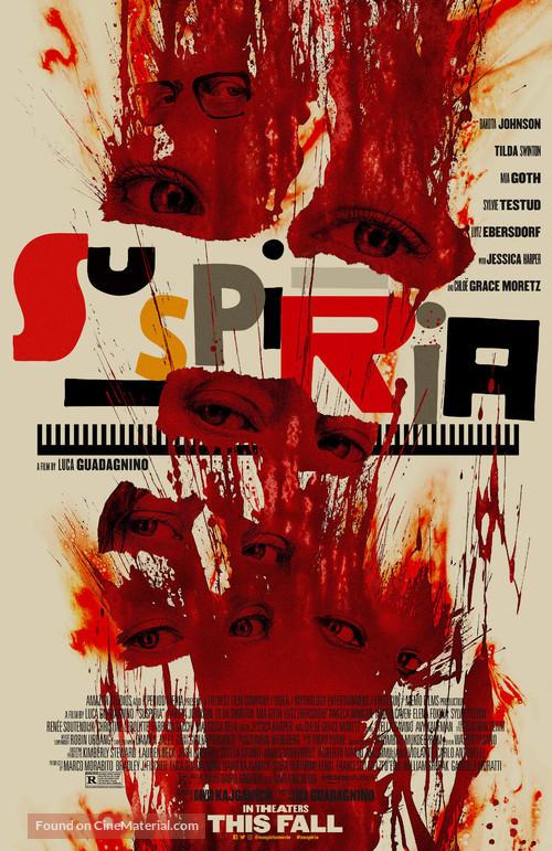 Suspiria - Theatrical movie poster