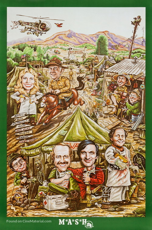 """""""M*A*S*H"""" - Movie Poster"""