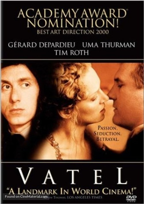 Vatel - DVD movie cover