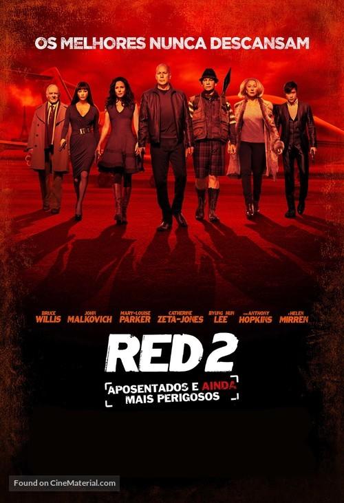 RED 2 - Brazilian Movie Poster