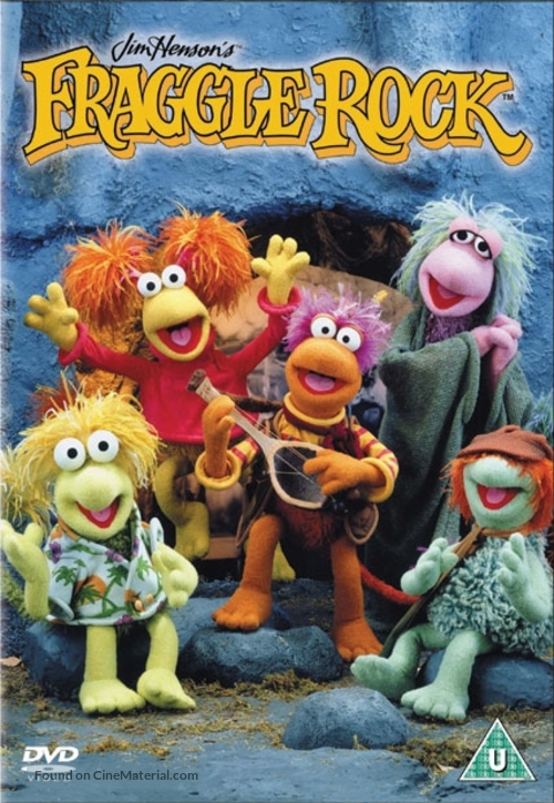 """Fraggle Rock"" - British DVD movie cover"