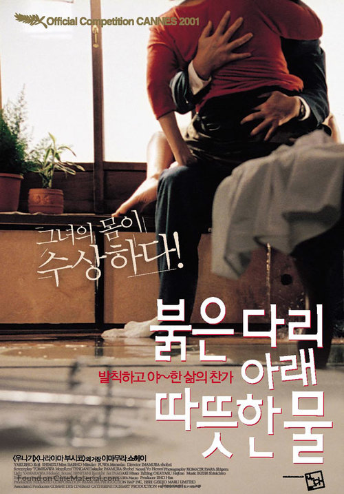 Akai hashi no shita no nurui mizu - South Korean poster