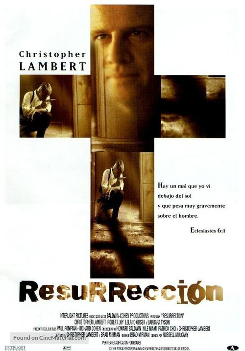 Resurrection - Spanish Movie Poster