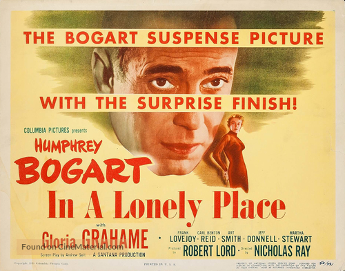 In a Lonely Place - Movie Poster