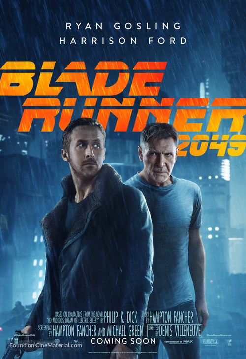 Blade Runner 2049 (2017) movie poster