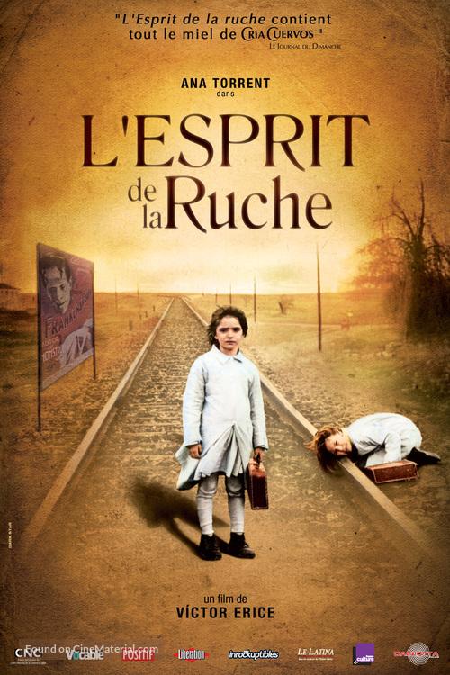 El espíritu de la colmena - French Movie Poster