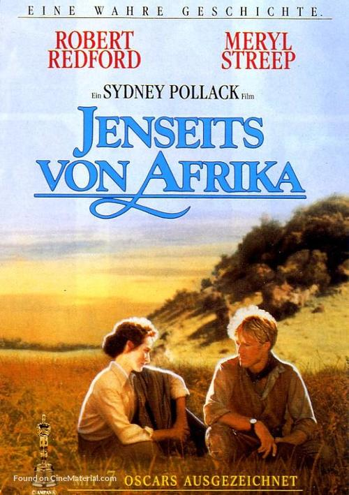 Out of Africa - German DVD movie cover
