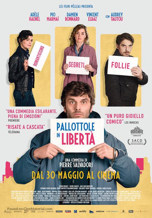 En liberté - Italian Movie Poster