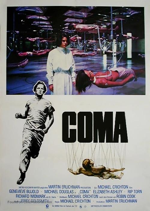 Coma - German Movie Poster