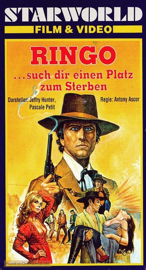 Joe... cercati un posto per morire! - German VHS movie cover