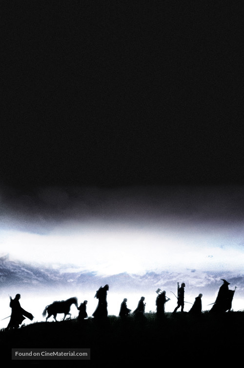 The Lord of the Rings: The Fellowship of the Ring - Key art