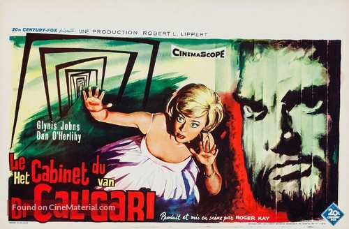 The Cabinet of Caligari - Belgian Movie Poster