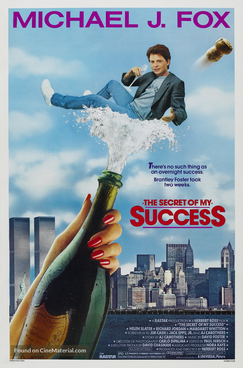 The Secret of My Succe$s - Movie Poster