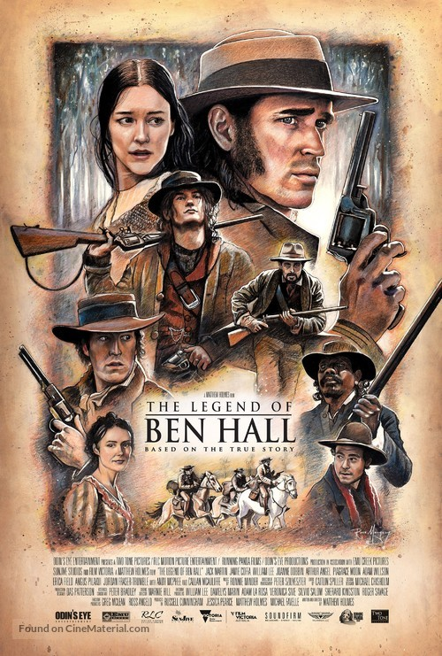 The Legend of Ben Hall - Australian Movie Poster