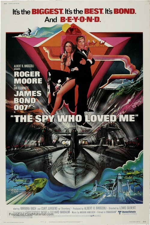 The Spy Who Loved Me - Movie Poster