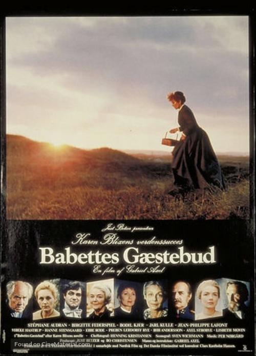 Babettes gæstebud - Danish Movie Poster