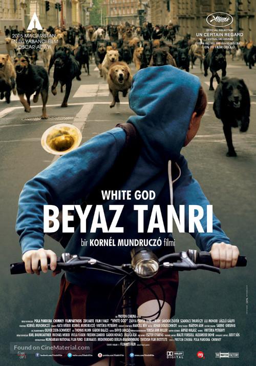 Fehér isten - Turkish Movie Poster