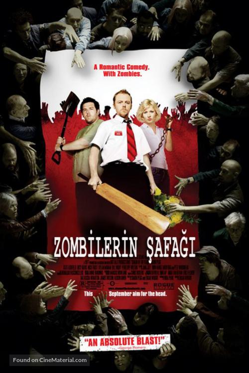 Shaun of the Dead - Turkish Movie Poster