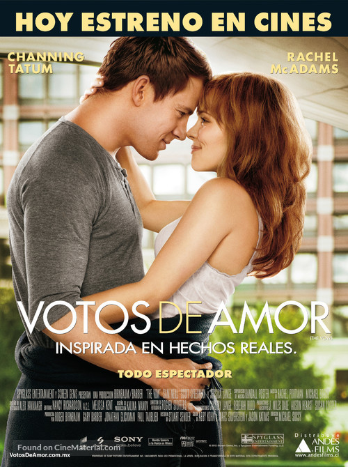 The Vow - Chilean Movie Poster