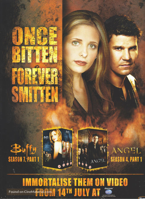 """Buffy the Vampire Slayer"" - British Video release movie poster"