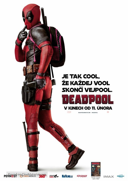 Deadpool - Czech Movie Poster